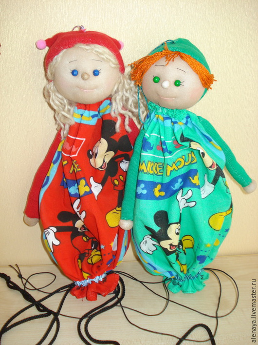 Подарочная упаковка ручной работы. Ярмарка Мастеров - ручная работа. Купить Кукла-мешок (большая). Мульти-пульти. Handmade. кукла