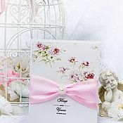 Свадебный салон ручной работы. Ярмарка Мастеров - ручная работа Приглашения Розовые пионы Цветы Нежность Розовый. Handmade.