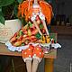 Куклы Тильды ручной работы. Тильда,,Дачница с морковками,,. Елена (elenadollworld). Интернет-магазин Ярмарка Мастеров. Тильда, рыжий, шитьё