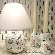 Для дома и интерьера handmade. Livemaster - original item Vintage fu.lamp