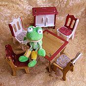 Мебель для кукол ручной работы. Ярмарка Мастеров - ручная работа Комплект кукольной мебели. Handmade.