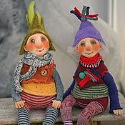 Куклы и игрушки ручной работы. Ярмарка Мастеров - ручная работа Гномы лесные. Handmade.