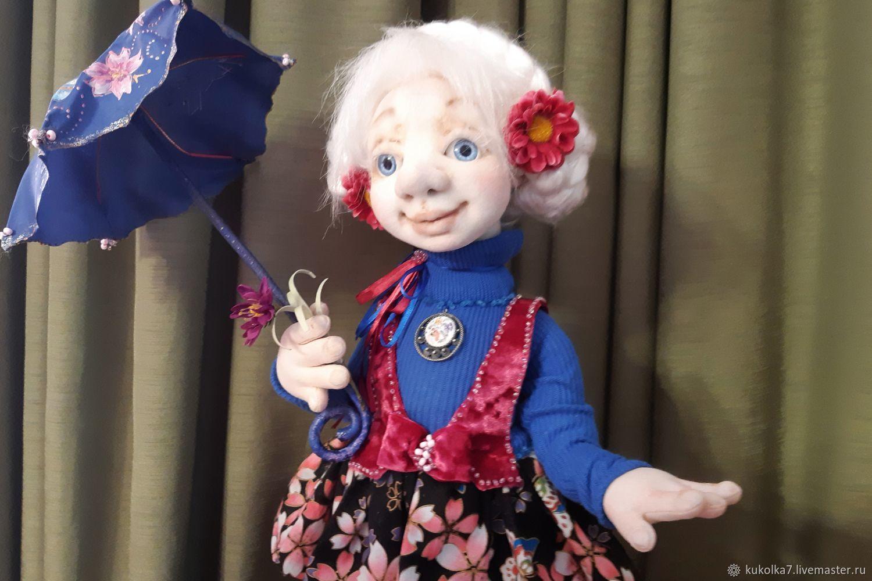 """Мастер-класс по Авторской кукле: """"Летний дождик"""", Куклы и пупсы, Раменское,  Фото №1"""