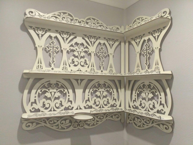 Shelf corner for icons ' Tenderness», Shelves, Orel,  Фото №1
