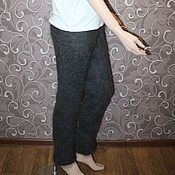 Одежда handmade. Livemaster - original item leggings: Feather leggings (the pants, poddevom, chaps). Handmade.