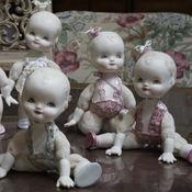 Куклы и игрушки ручной работы. Ярмарка Мастеров - ручная работа LoveChild. Малышки в стиле антикварочек. Handmade.