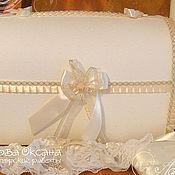 """Свадебный салон ручной работы. Ярмарка Мастеров - ручная работа Свадебный комплект """"Франция"""". Handmade."""
