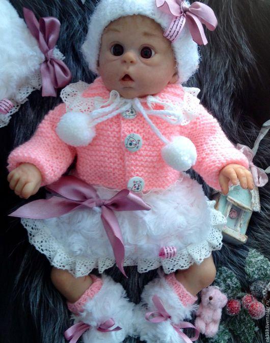 Одежда для кукол ручной работы. Ярмарка Мастеров - ручная работа. Купить Комплект одежды для мини-реборна Офелии. Handmade. комплект