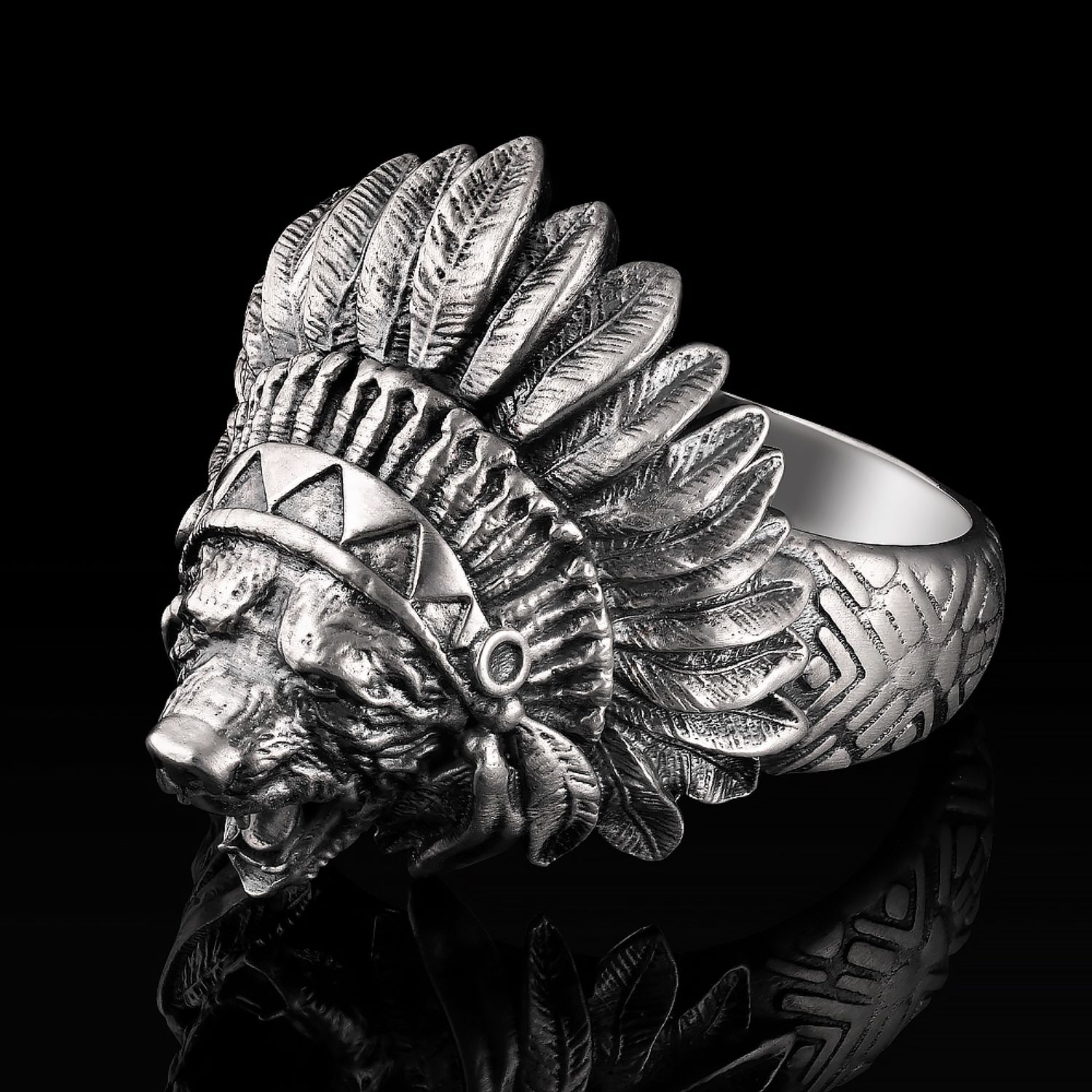 Ring Indian, Phalanx ring, Moscow,  Фото №1