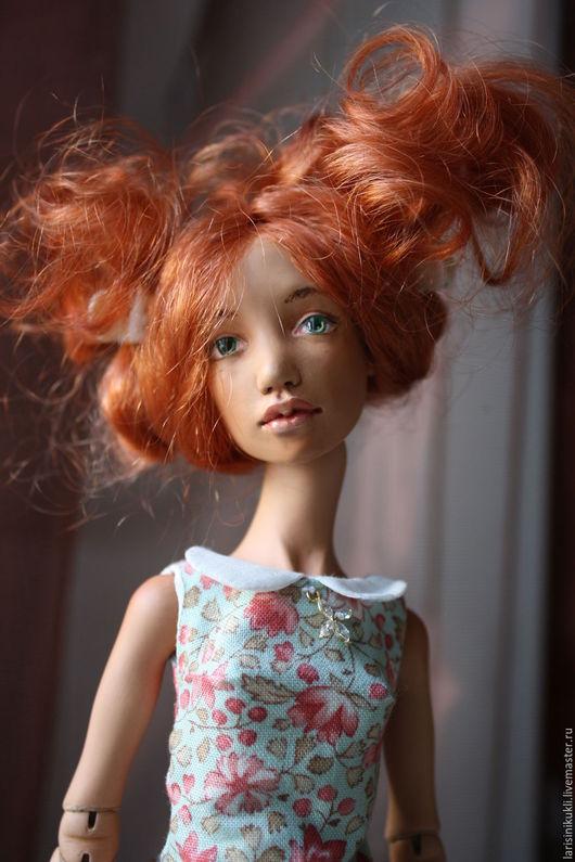 Коллекционные куклы ручной работы. Ярмарка Мастеров - ручная работа. Купить Кукла шарнирная Саша. Handmade. Рыжий, шарнирная кукла