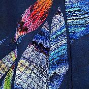 """Одежда ручной работы. Ярмарка Мастеров - ручная работа Пончо """"Стеклянная стрекоза"""" из коллекции """"Бархатный сезон"""". Handmade."""