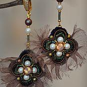 handmade. Livemaster - original item Earrings