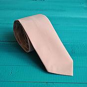 Аксессуары handmade. Livemaster - original item Tie necktie for wedding in color Rose Quartz / cream wedding. Handmade.