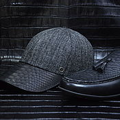 handmade. Livemaster - original item Gift men`s accessories set: moccasins baseball cap.. Handmade.
