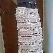 Одежда ручной работы. Ярмарка Мастеров - ручная работа Юбка вязаная по мотивам Ванессы Монторо. Handmade.