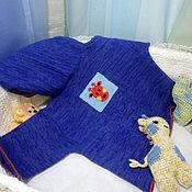"""Работы для детей, ручной работы. Ярмарка Мастеров - ручная работа Жакет """"В синей Африке жираф"""". Handmade."""