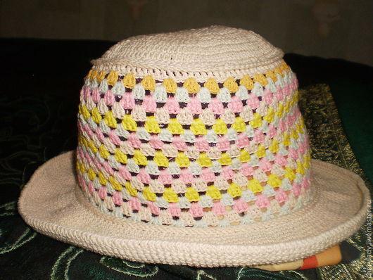 Шляпы ручной работы. Ярмарка Мастеров - ручная работа. Купить Шляпа женская  ''   КАРАМЕЛЬ''. Handmade.