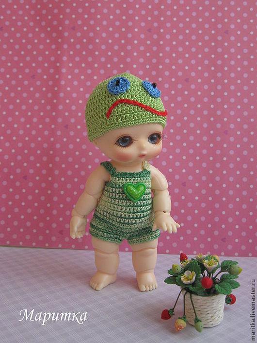 Одежда для кукол ручной работы. Ярмарка Мастеров - ручная работа. Купить Песочник для малыша NappyChoo. Handmade. Боди, хлопок мерсеризованный