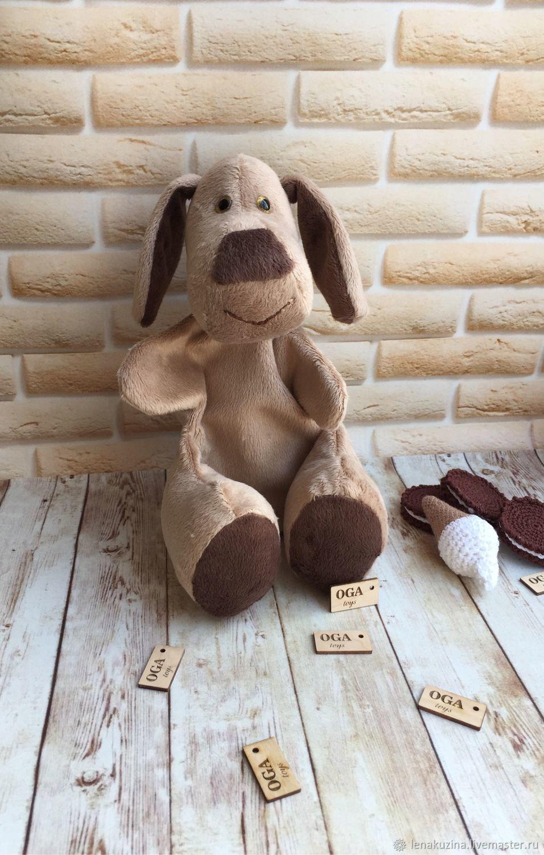 Щенок - ручная марионетка (перчаточная кукла), Кукольный театр, Новосибирск,  Фото №1