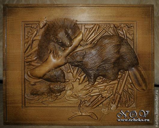 Резные панно и картины из дерева. В наличии и на заказ. Любая тематика, любой размер.