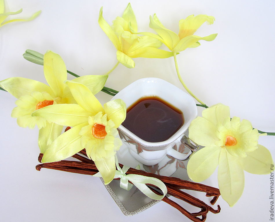 Где купить цветы ванили какой подарок сделать любимой девушке на 14 февраля своими руками
