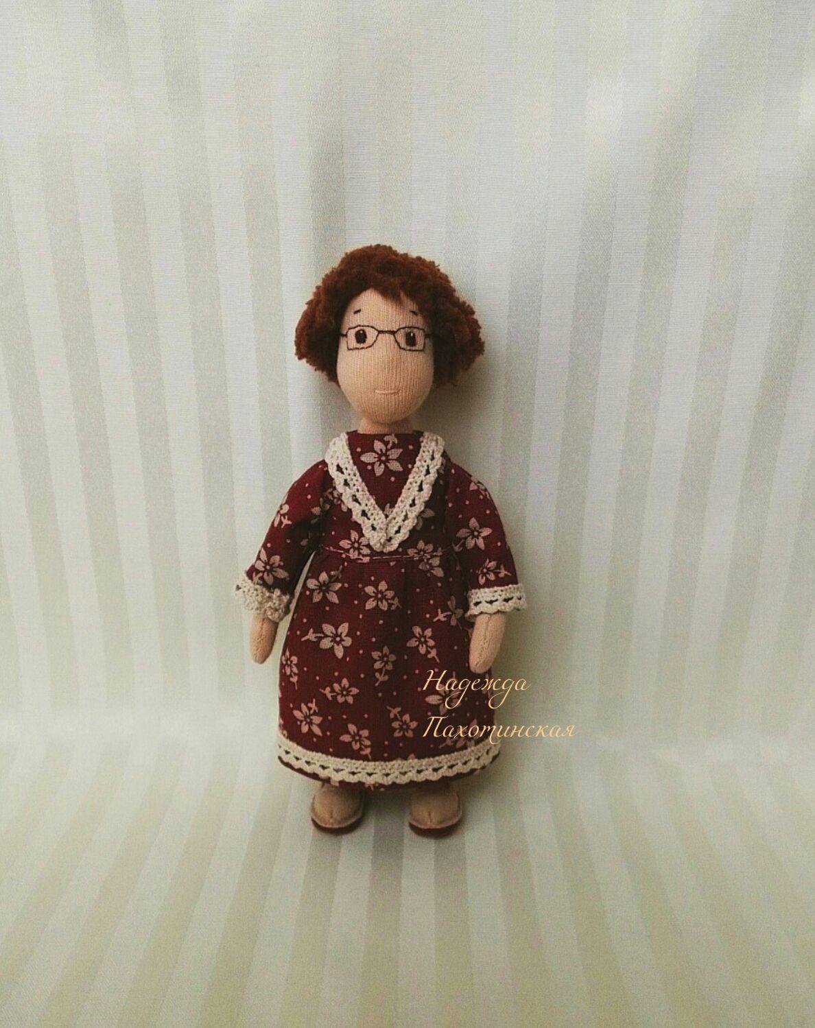 Куколка - молодая бабушка, Вальдорфские куклы и звери, Долгопрудный,  Фото №1