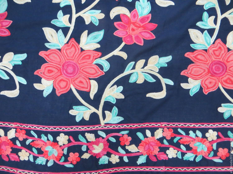 Ткани вискоза с вышивкой