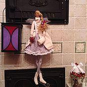 Куклы и игрушки ручной работы. Ярмарка Мастеров - ручная работа Тильда Ангел на коньках. Handmade.