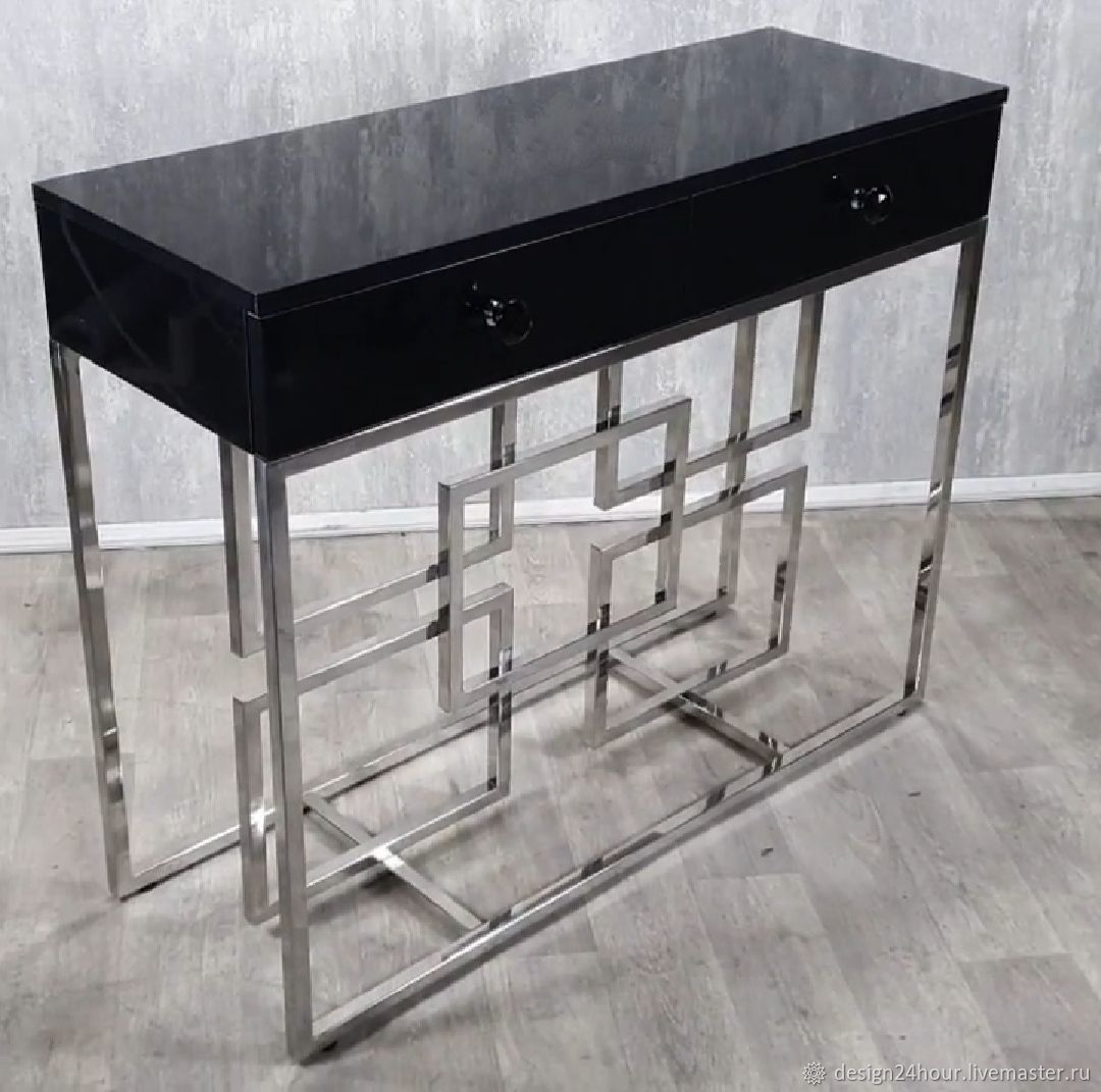 Stainless steel console. Handmade, Tables, Moscow,  Фото №1