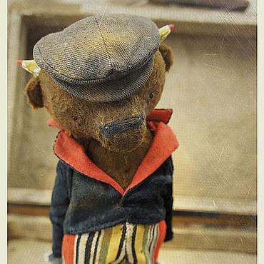 """Куклы и игрушки ручной работы. Ярмарка Мастеров - ручная работа """"BANDITO"""" - Uno KARLO cap moneto -. Handmade."""