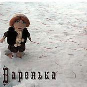 Куклы и игрушки ручной работы. Ярмарка Мастеров - ручная работа Кукла - Варенька. Handmade.