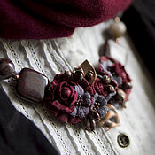 Украшения handmade. Livemaster - original item Necklace Tart Wine. Handmade.