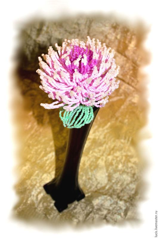 Цветы ручной работы. Ярмарка Мастеров - ручная работа. Купить Астра. Handmade. Комбинированный, Праздник, букет, астра, тепло, радость