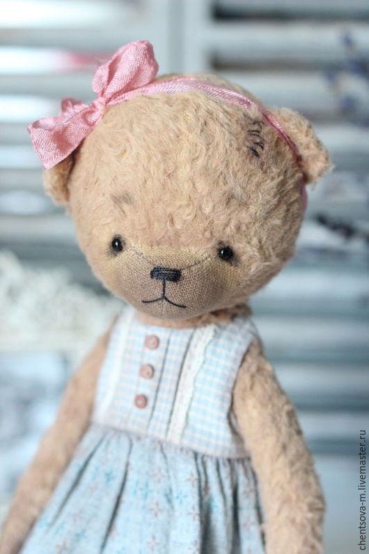 Мишки Тедди ручной работы. Ярмарка Мастеров - ручная работа. Купить Лёля. Handmade. Мишка, мишки, тедди медведи, вискоза