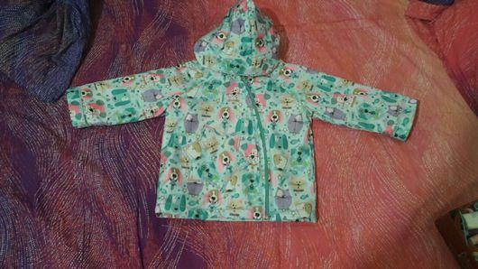 Одежда для девочек, ручной работы. Ярмарка Мастеров - ручная работа. Купить Куртка на девочку, размер 86. Handmade. Куртка для девочки