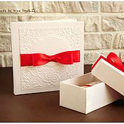 Сувениры и подарки ручной работы. Ярмарка Мастеров - ручная работа Футляр для диска и коробочка для флешки.. Handmade.
