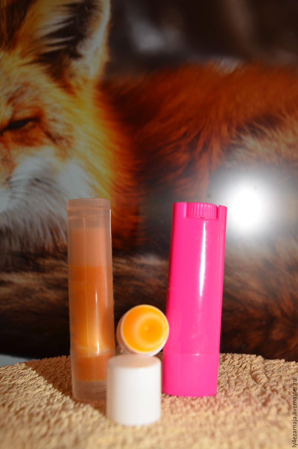 Defensively.balm d / dry, weathered.lip ' Flick of the Fox's tail', Lip Balm, Moscow,  Фото №1