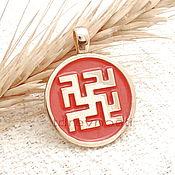 Фен-шуй и эзотерика handmade. Livemaster - original item Odalen grass,Slavic charms charms enamel. Handmade.