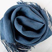 Аксессуары handmade. Livemaster - original item Handmade woven linen scarf. Handmade.