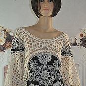 Одежда handmade. Livemaster - original item Blouse, cotton, ,42-44 p.. Handmade.