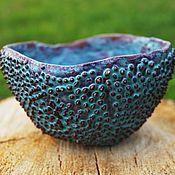 Посуда ручной работы. Ярмарка Мастеров - ручная работа Фактурная чаша. Handmade.