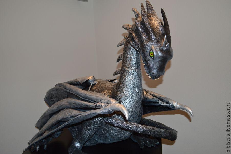 дракон из папье маше своими руками фото можно