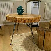 Для дома и интерьера ручной работы. Ярмарка Мастеров - ручная работа Оригинальный журнальный столик. Handmade.
