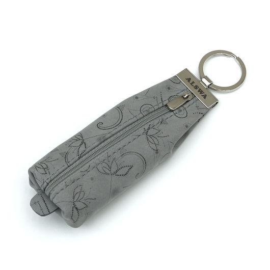 Ключницы ручной работы. Ярмарка Мастеров - ручная работа. Купить Кожаная ключница Серая. Handmade. Кожаная ключница, чехол для ключей