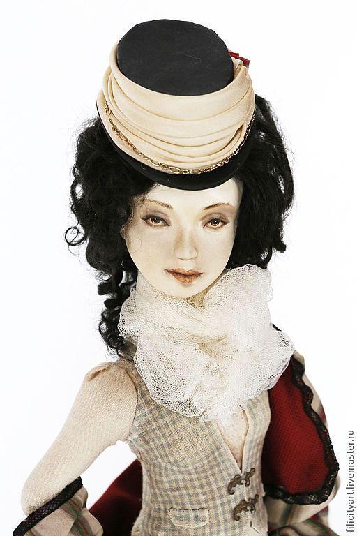 """Коллекционные куклы ручной работы. Ярмарка Мастеров - ручная работа. Купить """"The Brits"""". Handmade. Подарок на день рождения, прованс"""