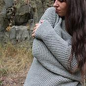Одежда handmade. Livemaster - original item Sweater Grey Cashmira. Handmade.
