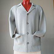Мужская одежда handmade. Livemaster - original item Jacket men`s jacket cardigan. Handmade.