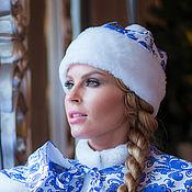 Аксессуары handmade. Livemaster - original item Snow Maiden Hat