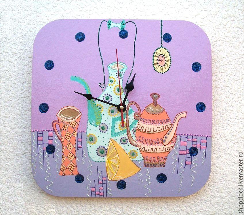 Часы настенные на кухню