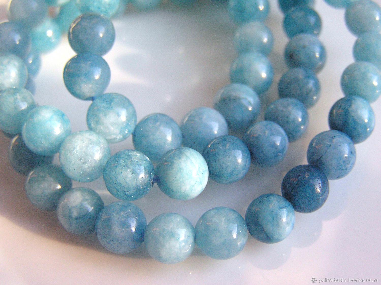 Beads: aquamarine quartz, Beads1, Tyumen,  Фото №1